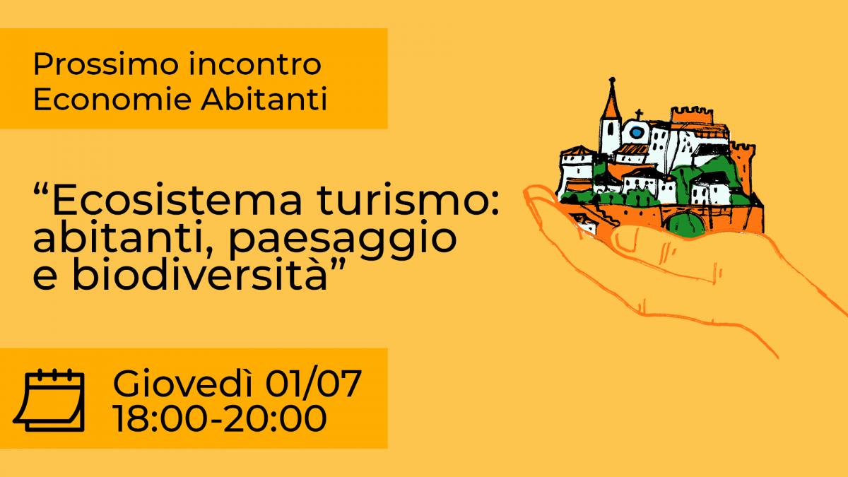 incontro sul turismo call 2021